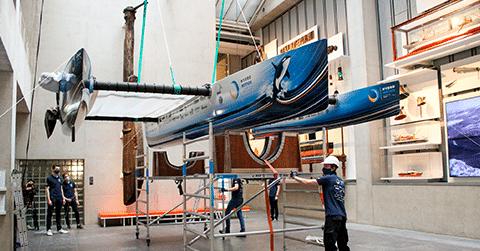 Nieuwsbericht: Eerste vliegende waterstofboot
