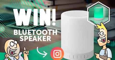 Nieuwsbericht: LED tafellamp Bluetooth speaker