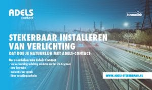 Stekerbaar installeren Adels-Contact