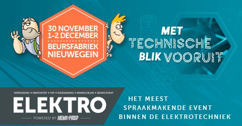 Nieuwsbericht: ELEKTRO verplaatst naar december
