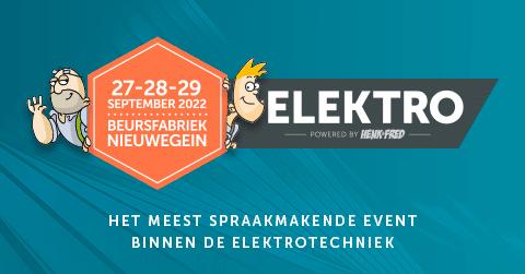 Nieuwsbericht: ELEKTRO verplaatst naar 2022